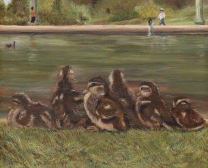 Ducklings All in a Row by Kerri Kane