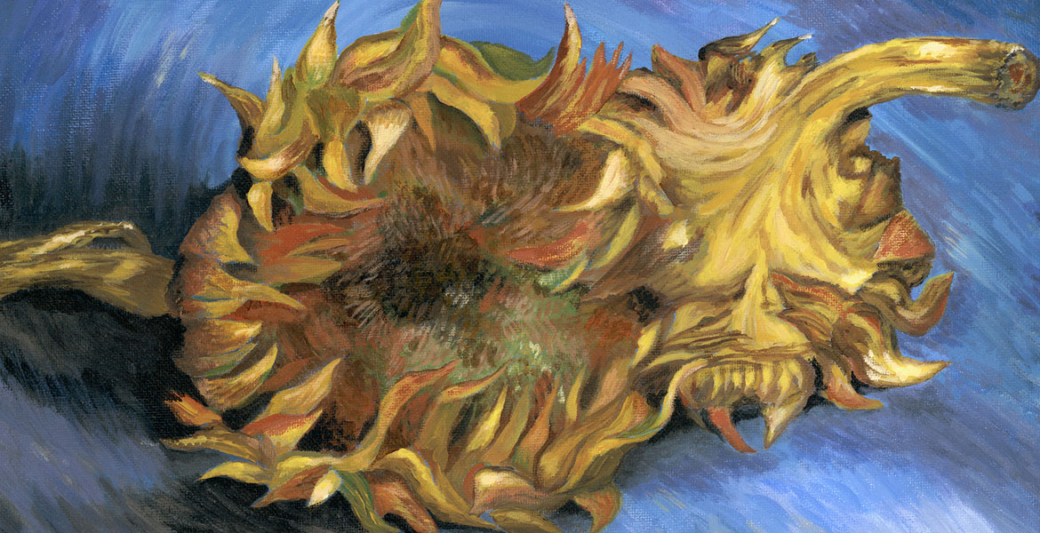 Cut Sunflowers by Kerri Kane