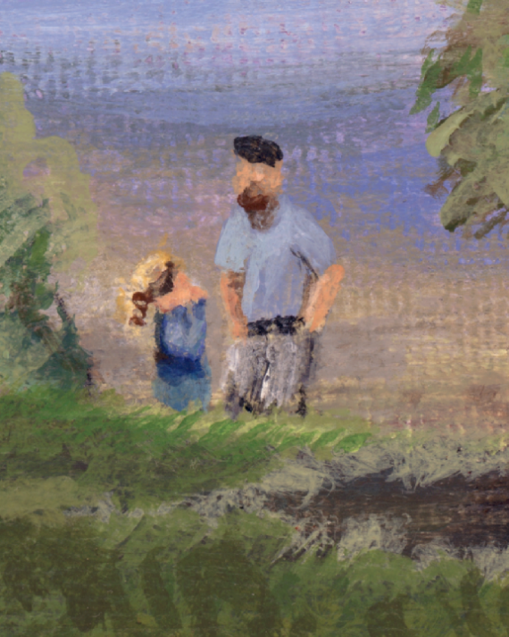 Day in the Park texture close up - Jamie Hyneman look alike not intended lol