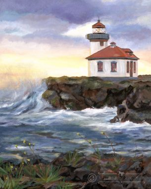 Lime Kiln Lighthouse - San Juan Island, Washington